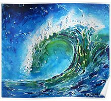 The wave's power Poster