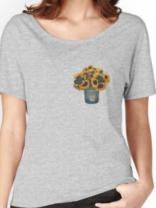 Sunflowers in Bucket Women's Relaxed Fit T-Shirt