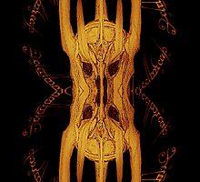 Sauron Mirror Flame by XpressUSelf