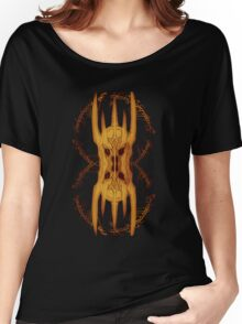 Sauron Mirror Flame Women's Relaxed Fit T-Shirt