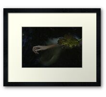 Dark Water Framed Print