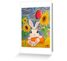 Dreamland Bunny Greeting Card