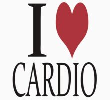 I love Cardio Kids Tee