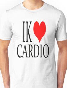 Ik hou van cardio Unisex T-Shirt