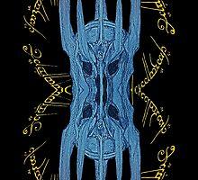 Sauron Mirror Blue by XpressUSelf