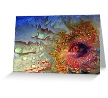 """Eye of the Storm ...""(2) Greeting Card"