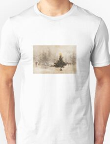 A Christmas in the Forest Unisex T-Shirt