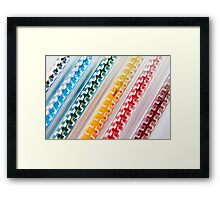 Colourful journey Framed Print