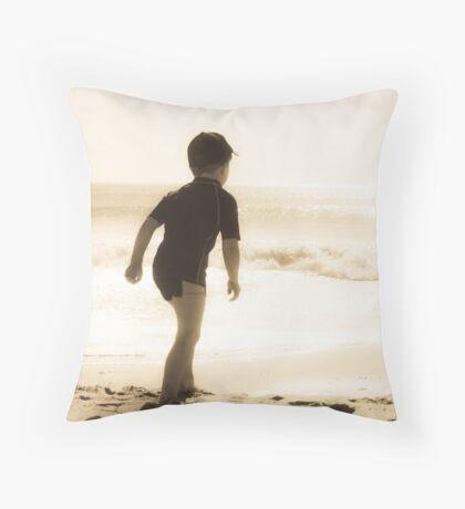 Surfie Dude Throw Pillow
