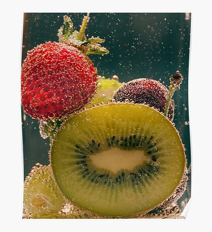 Anyone for a Fruit Salad Poster