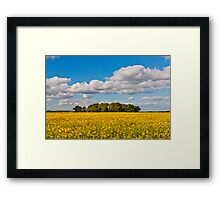 """""""Scent of Summer""""  Alban Hill to Weston Underwood Framed Print"""