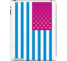 American Flag - Psychedelic Colors iPad Case/Skin