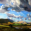 Millfield Clouds by Guntis Jansons
