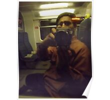 self-portrait/with camera being held -(260811)- digital photo  Poster