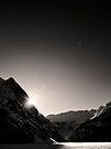 Shine Upon Lake Louise by Ryan Davison Crisp