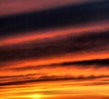 January Sunset by samwisewoahzay