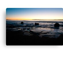 Moeraki Boulders Sunrise Canvas Print