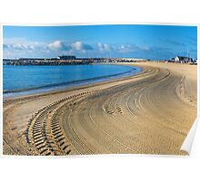 A Clean Sweep ~ Lyme Regis Poster