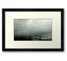 Shaky Camera  Framed Print