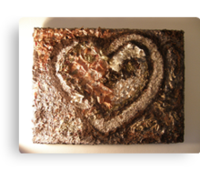 LOVE NATURE COLLECTION - HEART OF NATURE 2 RAPTURE Canvas Print