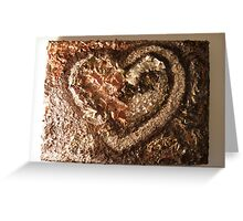 LOVE NATURE COLLECTION - HEART OF NATURE 2 RAPTURE Greeting Card