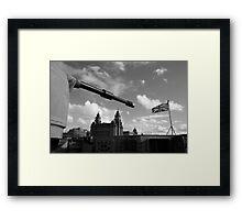 Guns Of Liverpool Framed Print