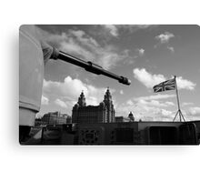 Guns Of Liverpool Canvas Print