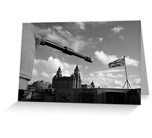 Guns Of Liverpool Greeting Card