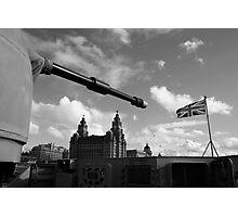 Guns Of Liverpool Photographic Print