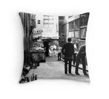 Body language ... Throw Pillow