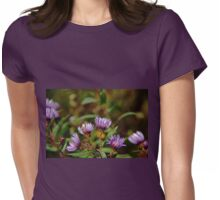 Autumn Purple Womens Fitted T-Shirt