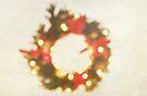 Christmas Wreath (OOF) by Denise Abé