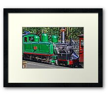 HDR of Puffing Billy, Belgrave, Australia. Framed Print