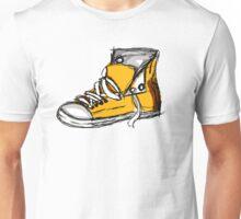Yellow sneeker Unisex T-Shirt