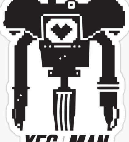 YES MAN: PIXEL VECTOR Sticker