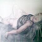 lying figure by Mina Marković
