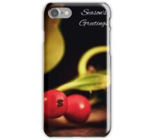 Holly Christmas. iPhone Case/Skin