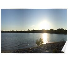 Coastal Sundown Poster
