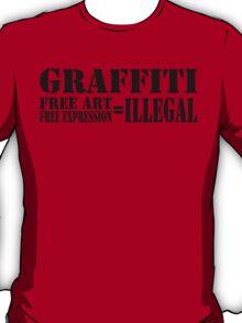 FREE = ILLEGAL T-Shirt