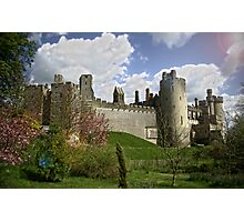 Arundel Castle side view Photographic Print