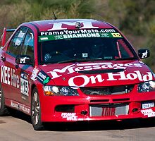 Targa West 2011, 15 Messages On Hold Racing Mitsubishi Lancer Evo 9 by Immaculate Photography