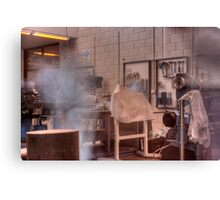 Ghost in the machine shop Canvas Print