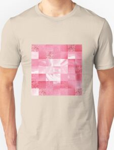 Baby Pink Marble Quilt II T-Shirt