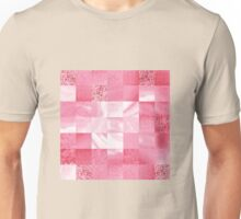 Baby Pink Marble Quilt II Unisex T-Shirt