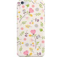 Tender flowers pattern iPhone Case/Skin