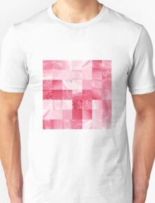 Baby Pink Marble Quilt I T-Shirt