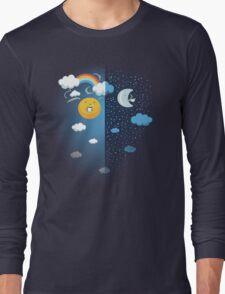 Night and Day Long Sleeve T-Shirt