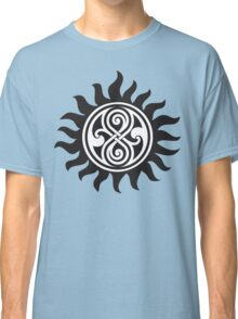 SUPERWHO SEAL OF RASSILON AND PROTECTION TATTOO Classic T-Shirt