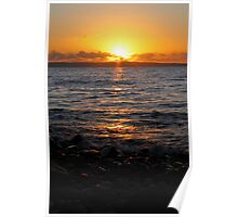 Anglesey sunset. Poster