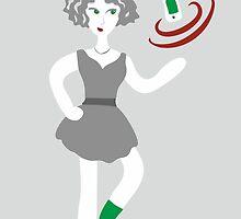 Socialmedia Lady - superpowers by XOOXOO